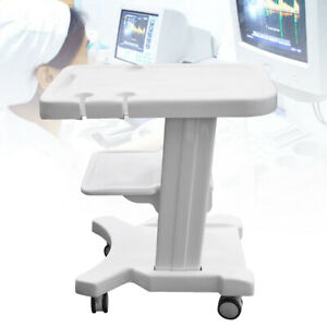Lab Trolley Cart Mobile W Roll Wheel Ultrasound Stand For Ultrasound Scanner
