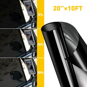 New Listinguncut Window Tint Roll 5 15 20 Vlt Home Commercial Office Auto Film 3 Meters