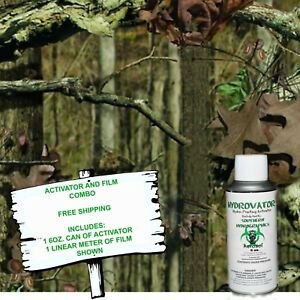 Hydrographic Film Water Transfer Hydro Dip 6oz Activator Fall Camo Dip Kit