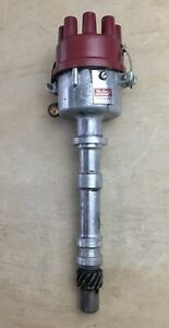 Chevy V8 Mallory Distributor 2548201d Vintage Used