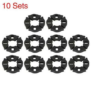 10 Set Durable Socket Motorcycle Tire Shock Absorber Bushings Rubber For Jh70