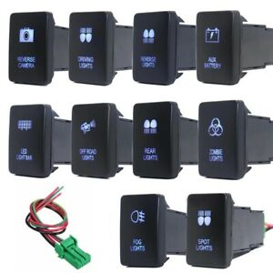 For Toyota Led Light Bar Switch Push Button Tacoma 4runner Camry Corolla Tundra