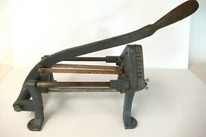 Vintage Alfa International Commercial French Fry Cutter 3 8 Inch