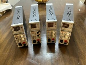 Lot Of 4 Extech Instruments 382260 80w 0 36v Adjustable Switching Power Supply