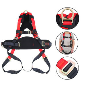 Full Body Safety Harness 2500kg Fall Protection Construction Harness Search 45mm