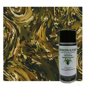 Hydrographic Film Water Transfer Hydro Dipping Duo Kit 6oz 1m Army Camo Slick