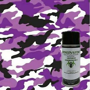 Hydrographic Film Water Transfer Hydro Dipping Duo Kit 6oz 1m Army Camo Purple
