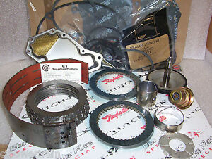 C4 Super Master Rebuild Kit With Raybestos Blue Plate Special Friction 1970 1972