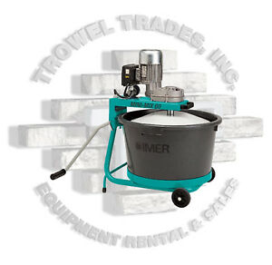 Imer 1193988 Mix All 60 Electric Bucket Mixer Portable Mortar Epoxy Plaster Mix