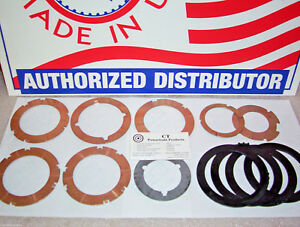 C6 Thrust Washer Kit With 4 Pump Plastic Selectives 1966 on Ford Lincoln Mercury