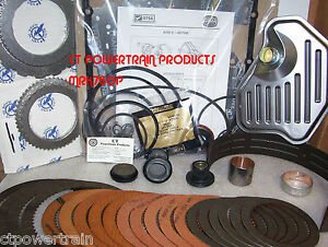 Aode 4r70w Super Master Rebuild Kit With Bonded Accumulator Pistons 1996 2003