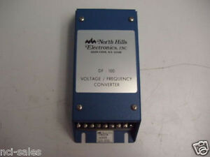 North Hills Electronics Inc Voltage frequency Converter Model Df 100 1 3 is