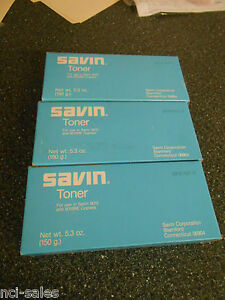 Savin 5015 5015re Copier Toner 3 nib