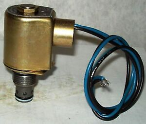 Delta Hydraulic Mini Cartridge Solenoid Valve 85003026 24 Volts Ac 3000 P s i