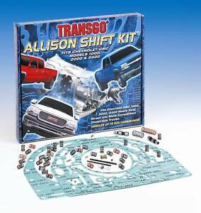 Transgo Allison Transmission Hd Racing Shift Kit 2001 2005