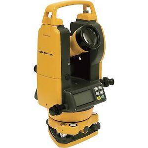 Cst berger 5 Second Digital Transit Theodolite 56 dgt10