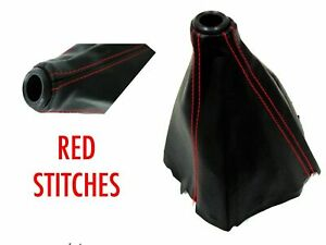 Vms Racing Type r Red Stitch Jdm Shift Boot For Fits 96 00 Honda Civic Ek9