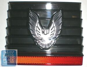 1979 81 Pontiac Firebird Trans Am Gas Door With Silver Bird