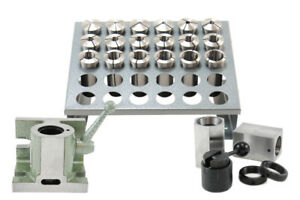 Out Of Stock 90 Days 25 Pcs 5c Collet Set With 5c Block Collets