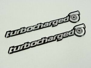 2 Suzuki Gsxr Turbo Turbocharged Emblems Badges Engine