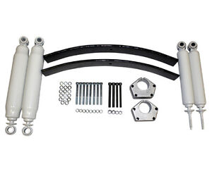 2 5 Lift Kit W 4 Shocks For Toyota Ifs Pickup 4wd
