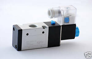 1pc 3 Way 2 Position Solenoid Air Valve 1 4 npt 220v Ac Mettleair 3v210 08 ac220