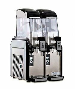 Elmeco Fcm 2 Millennium Frozen Beverage Granita Slush Machine