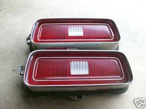 Two 1974 Chevrolet Taillight Housing Rat Rod