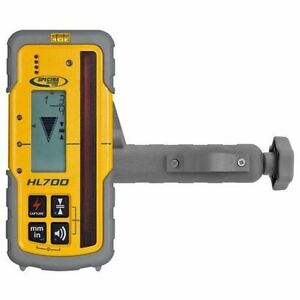Spectra Hl700 Digital Readout Laser Receiver Detector Trimble Topcon