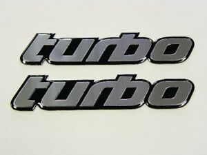 2 Honda Civic Fit Prelude Crx Turbo Kit Engine Emblems