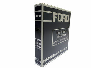 Ford 1310 1510 1710 Tractor Service Manual Repair Shop Book New W binder