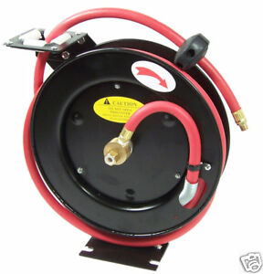 Retractable Reel New 3 8 X 50 Ft