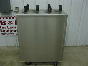 Delfield 6 1 2 Heated Plate Lowerator Dispenser Cart