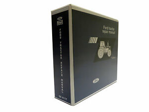 Ford Tw 5 Tw 15 Tw 25 Tw 35 Tractor Service Manual Repair Shop Book New