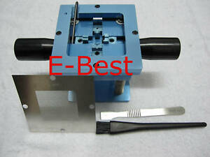 0 6mm Bga Reballing Repair Stencil Welder Station Kits