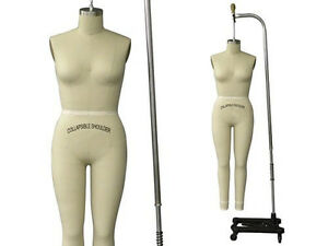 Professional Pro Female Working Dress Form Mannequin Full Size 4 arm