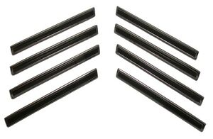 1960 60 Chevy Impala Front Fender Trim Badges 8 Pc Set