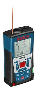 Bosch Glr 825 Laser Distance Measurer Meter 820ft Range
