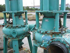Allis Chalmers Large Vertical Centrifugal Pumps Qty 3