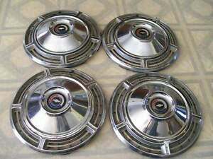 1968 Chevy Chevelle Hubcaps Set Of Four
