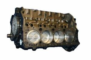 Gm Chevy 5 7 350 Short Block 1996 1997 1998 1999 2000 2001 2002 4 bolt Vortec
