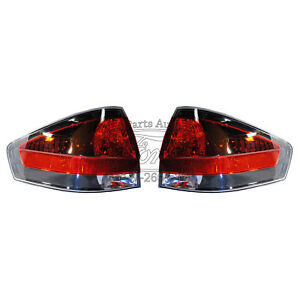 2008 2011 New Oem Ford Focus Dark Tint Tail Lights Pair