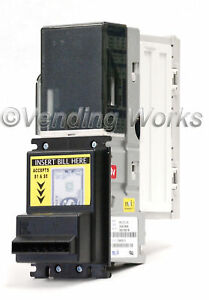 Mei Mars Vn 2512 Bill Acceptor Validator Flash Port New 5