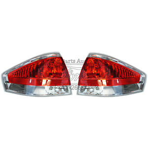 2008 2009 New Oem Ford Focus Chrome Tail Light Pair
