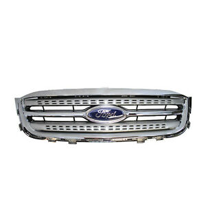 New 2010 2011 Oem Ford Taurus Sho Silver Grille S h o