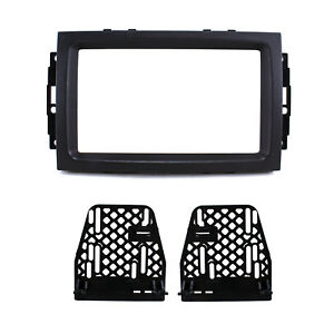 Double Din Radio Replacement Dash Mounting Kit For Chrysler Dodge Jeep W Oem Nav