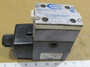 Continental Hydraulics Vs12m 1a gbl1 60l h Directional Control Valve