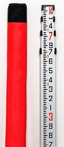 Adirpro Telescopic 14 Aluminum Constuction Grade Leveling Rod tenth 10ths