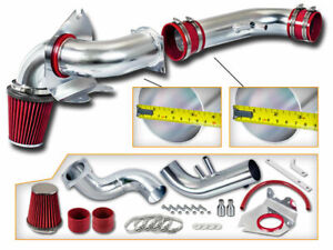 Red Cold Air Intake Kit Dry Filter For Ford 96 04 Mustang Gt 4 6l V8