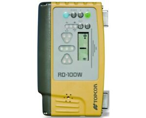 Topcon Rd 100w Wireless Remote Display For Ls b110w Machine Control Receiver